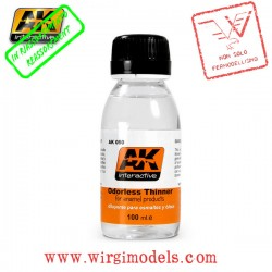 AK0050 - DILUENTE INODORE PER SMALTO (100ML)