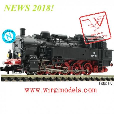 FL709404-V - Locomotiva a vapore di gruppo Gr 897, FS - ACCONTO di PRENOTAZIONE