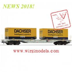 Roco 76921 - Carro trasporto container, AAE