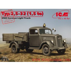 ICM 35401 - Opel Blitz, Type 2,5-32 (1,5 to), WWII German Light Truck