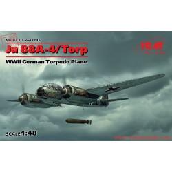 ICM48236 - JU 88a-4 torp/a-17, wwii german torpedo plane