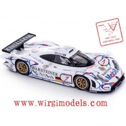 """PRENOTAZIONE - SLIT-CA23a-V - Porsche 911 GT1 EVO 98 n.25 2nd 24h Le Mans 1998 """"B. Wollek - J. Müller - U. Alzen"""""""
