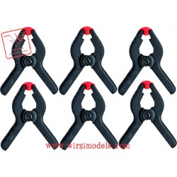 Artesania Latina 27200 - Set di 6 mini pinze.