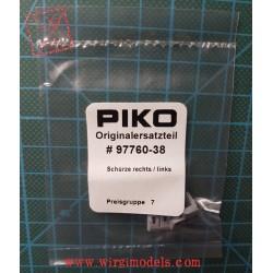 PIKO 97760-38 - Scaletta di accesso destra e sinistra per locomotori Vectron
