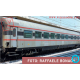 PIRATA 6015 - ACCONTO di PRENOTAZIONE - FS - self service Gran Confort, livrea d'origine, fascia nera, righe rosse, ep IV