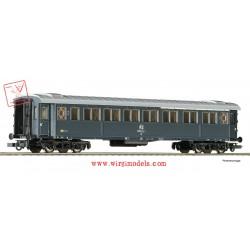 Roco 74601 - FS - Carrozza passeggeri di 1a e 2a classe, modello 1921, grigio ardesia.
