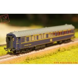 """L.S.MODELS 49178 carrozza CIWL Pullman """"Cote d'Azur"""" con tetto scuro e scritta ridotta e marcatura UIC, epoca IV"""