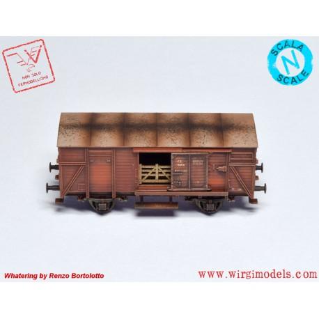 FL820511 Vagone gondola tipo E, FS