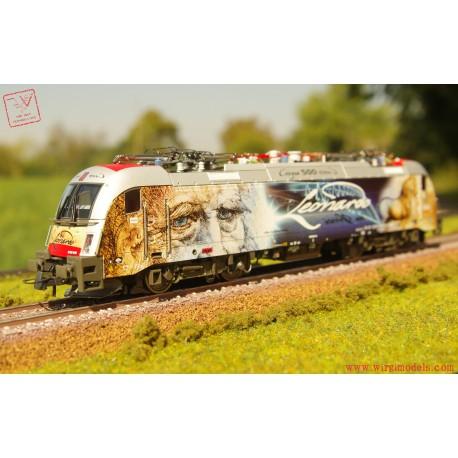 Roco 73908 - ACCONTO di PRENOTAZIONE - Locomotiva elettrica 1293 018-8, ÖBB (DCC-Sound)