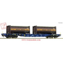 Roco 76737 - Container carrier wagon, CEMAT
