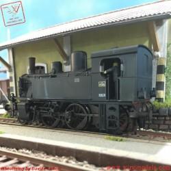 Roco 73017 - WMLab.:001 - FS Locomotiva a vapore 875 045 delle Ferrovie dello Stato Italiano, ep. III (DC).