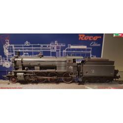 Roco 72124 - WMLab.:001 - Locomotiva a vapore Gruppo 38 , ep. III (DC).