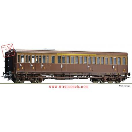 Roco 74684 - FS - Carrozza centoporte mista di 1a e 2a classe.