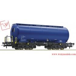 ROCO 76887 - SBB Carro silos con vernice blu di Holcim,  ep.VI