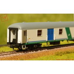 Rivarossi HR4248 - FS, bagagliaio tipo UIC-X '70T livrea XMPR per treni navetta, ep. V