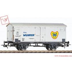 """PIKO 58943 - Carro refrigerante """"Wuhrer"""", DC, ep. III"""