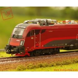 PIKO 59916 Locomotiva elettrica serie E.190 Railjet ep. VI