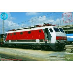 PIRATA 1202 - FS - E444.103, livrea grigio/rosso, logo FS centrale, griglia frontale, ep. IV/V