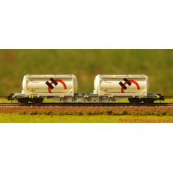 Roco 76943 - Carro per trasporto container, SBB, ep.: VI.