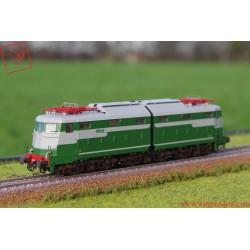 Rivarossi HR2740 - FS, locomotiva elettrica E 646 019, prima serie, senza logo FS frontale, ep. IIIb