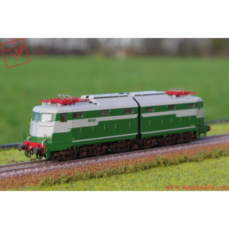 HR2740-V - FS, locomotiva elettrica E 646 019 prima serie