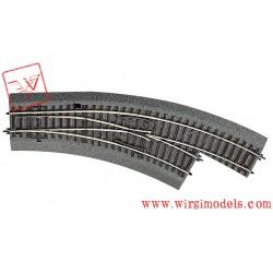 Roco 42559 - Scambio curvilineo destro BWr 2/3