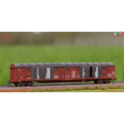 Roco 76496 - WMLab.: FS, Carro merci coperto a 4 assi tipo Gabs.
