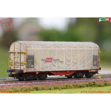 PIKO 54589 - WMLab.:001 - Carro  Shimmns Rail Cargo Austria, DC, ep. VI