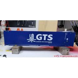 PIRATA PI12002 - Container 45 GTS blu scritta bianca, ep. VI.
