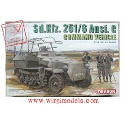 SD.KFZ.251/6 AUSF.C VEICOLO di COMANDO