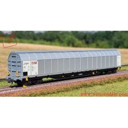 Roco 66433 - Vagone con pareti scorrevoli, DSB