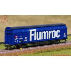 Roco 76874 - Carro a pareti scorrevoli SBB - Flumroc.