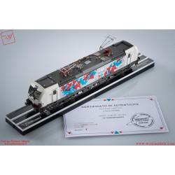 Wirgi Models WM-PI90002 - Vectron InRail E191.001 10° Anniversario, con firma artista e teca,  DC, ep. VI.