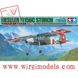 TAMIYA 25158 - Fieseler Fi156C Storch (Foreign Air Forces)