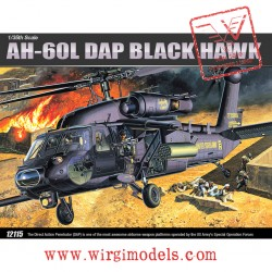 ACA12115 - AH-60L DAP BLACK HAWK