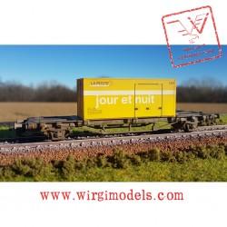 """PK57187-C3 Carro pianale per container """"La Poste"""""""