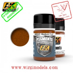 AK0043 - MEDIUM RUST PIGMENT