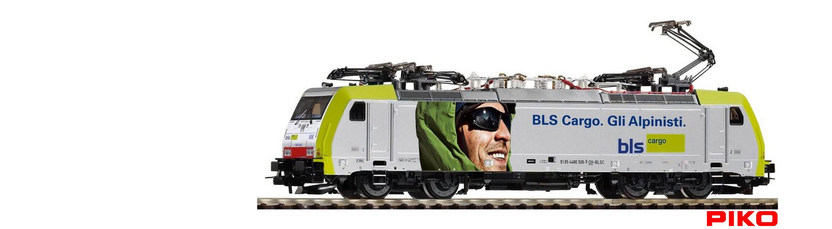 Locomotore BR 186 - Gli Alpinisti
