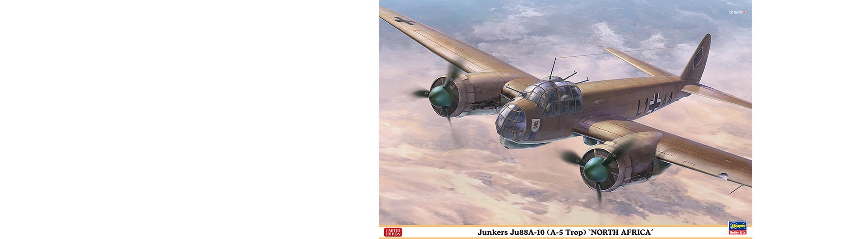 JUNKERS JU 88A-10 NORDAFRIKA