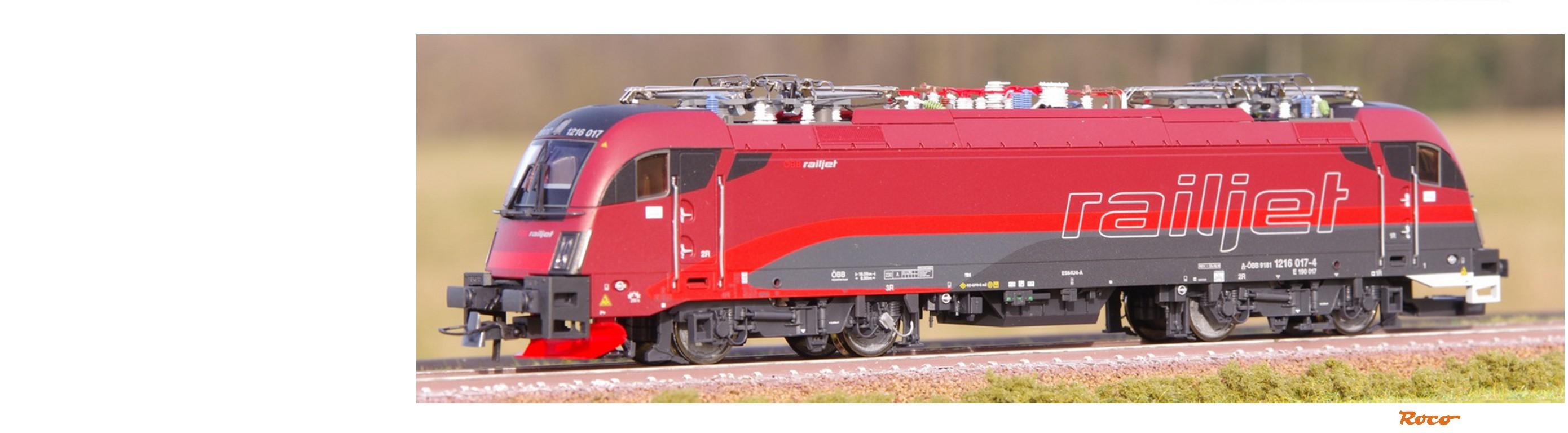 """Taurus 1216 017-4 """"Railjet"""", ÖBB"""