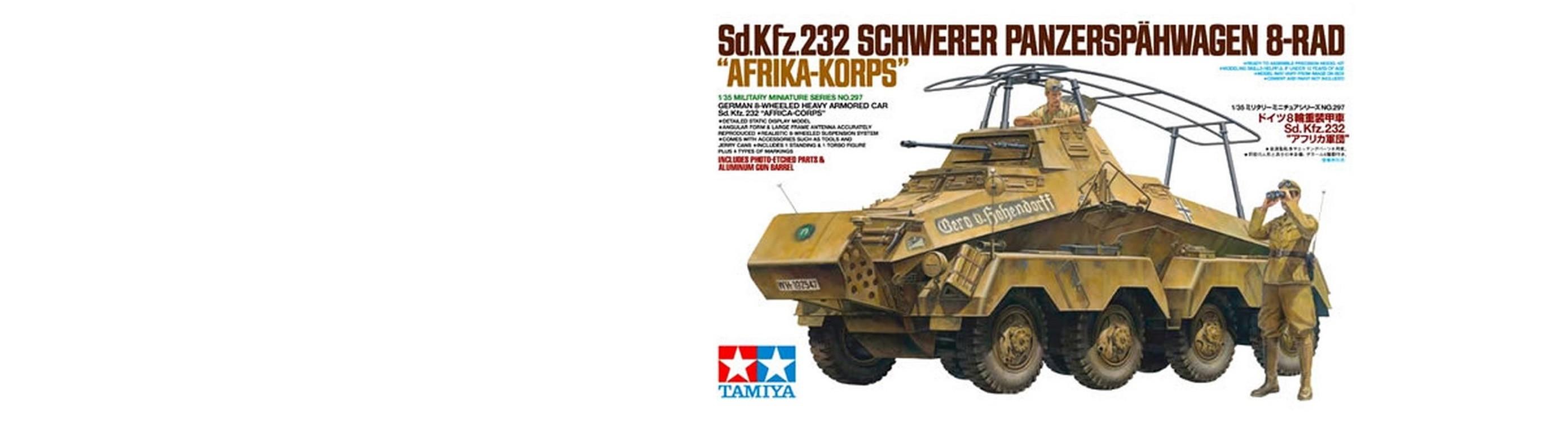 Sd.Kfz.232 Afrika Korps