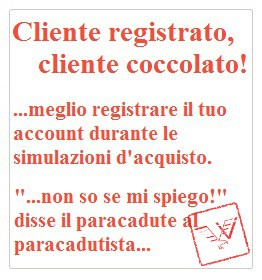 Registra il tuo account